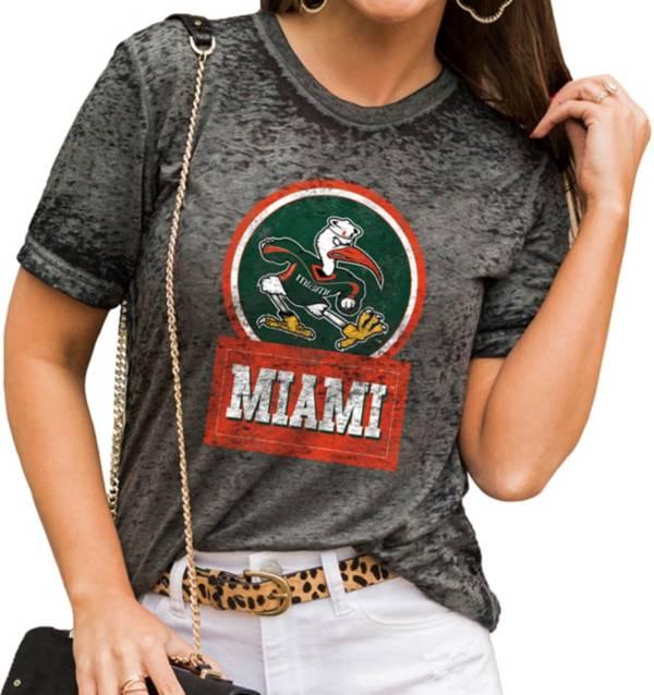 Gameday Couture Women's Miami Hurricanes Grey Boyfriend T-Shirt product image