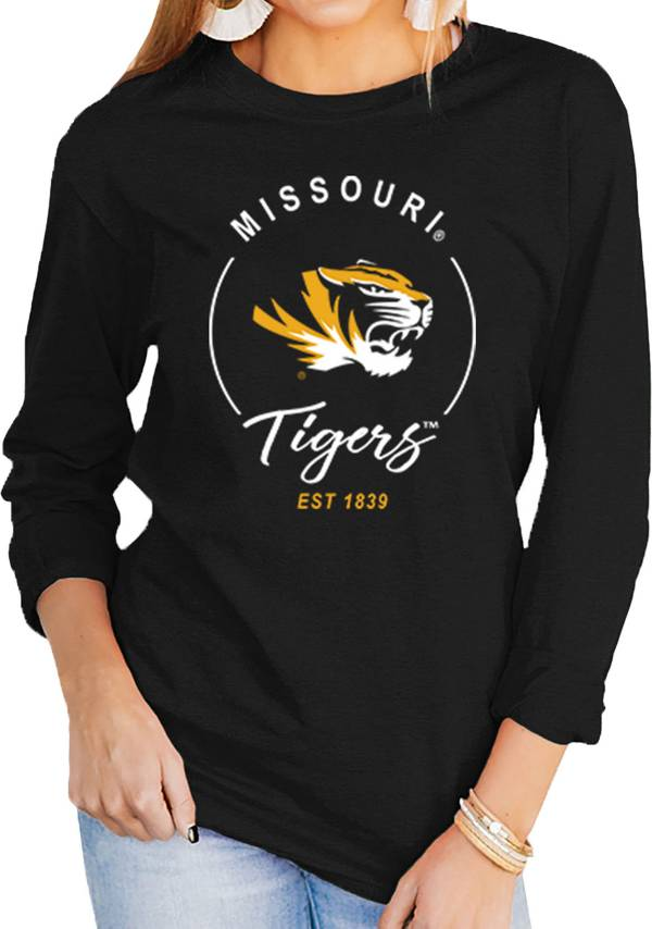 Gameday Couture Women's Missouri Tigers Varsity Long Sleeve Black T-Shirt product image