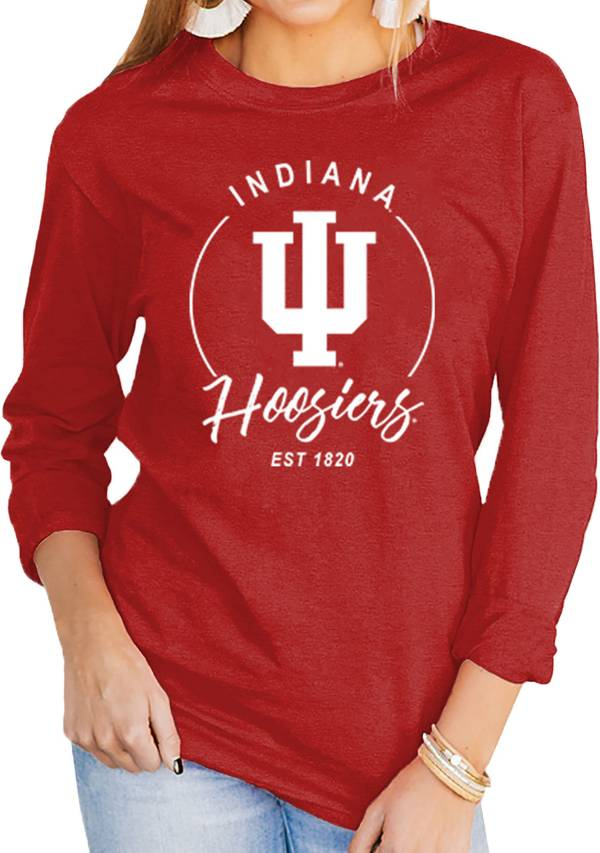 Gameday Couture Women's Indiana Hoosiers Crimson Varsity Long Sleeve T-Shirt product image
