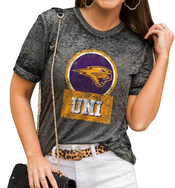 Gameday Couture Women's Northern Iowa Panthers  Grey Boyfriend T-Shirt product image