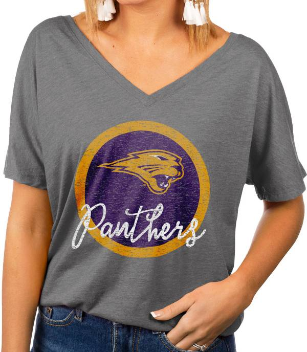 Gameday Couture Women's Northern Iowa Panthers  Grey Subtle Dolman Sleeve V-Neck T-Shirt product image