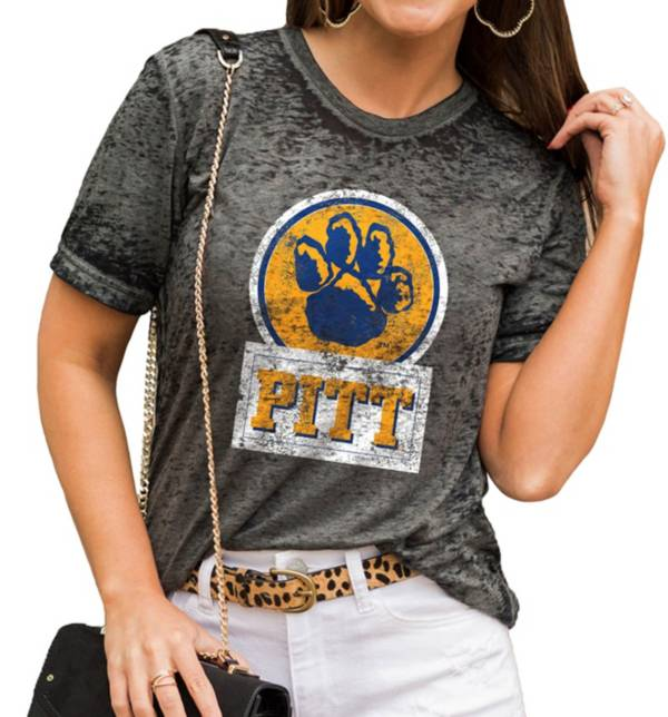 Gameday Couture Women's Pitt Panthers Grey Boyfriend T-Shirt product image