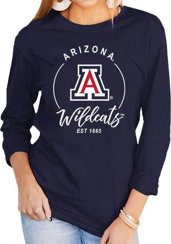 Gameday Couture Women's Arizona Wildcats Navy Varsity Long Sleeve T-Shirt product image
