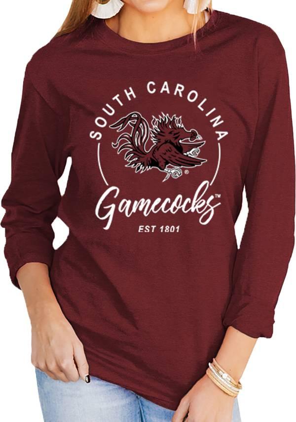 Gameday Couture Women's South Carolina Gamecocks Garnet Varsity Long Sleeve T-Shirt product image