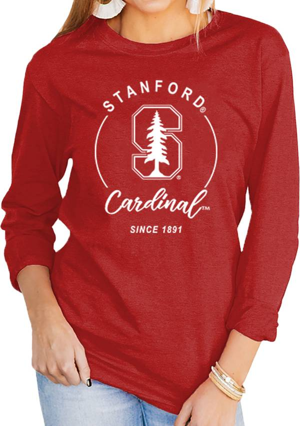 Gameday Couture Women's Stanford Cardinal Cardinal Varsity Long Sleeve T-Shirt product image