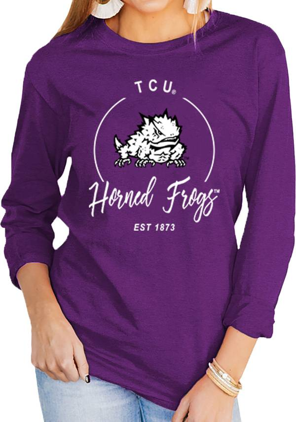 Gameday Couture Women's TCU Horned Frogs Purple Varsity Long Sleeve T-Shirt product image
