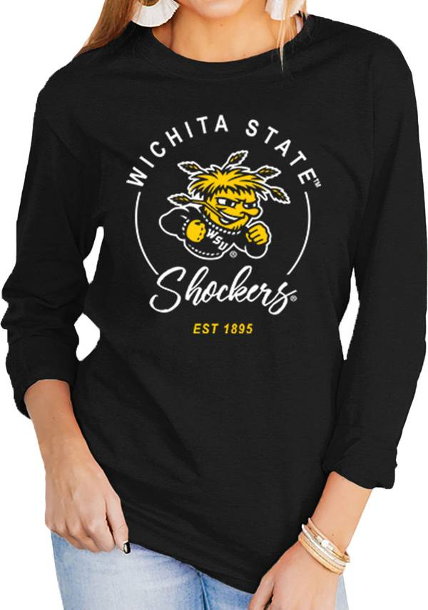 Gameday Couture Women's Wichita State Shockers Varsity Long Sleeve Black T-Shirt product image