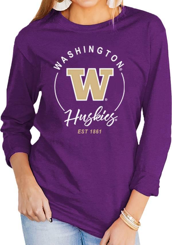 Gameday Couture Women's Washington Huskies Purple Varsity Long Sleeve T-Shirt product image