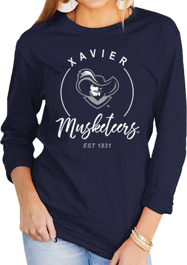 Gameday Couture Women's Xavier Musketeers Blue Varsity Long Sleeve T-Shirt product image