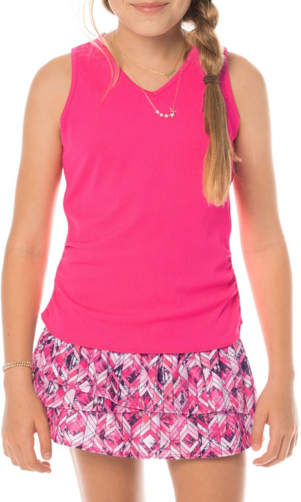 Lucky In Love Girls' Horizon Ombre Tennis Tank product image