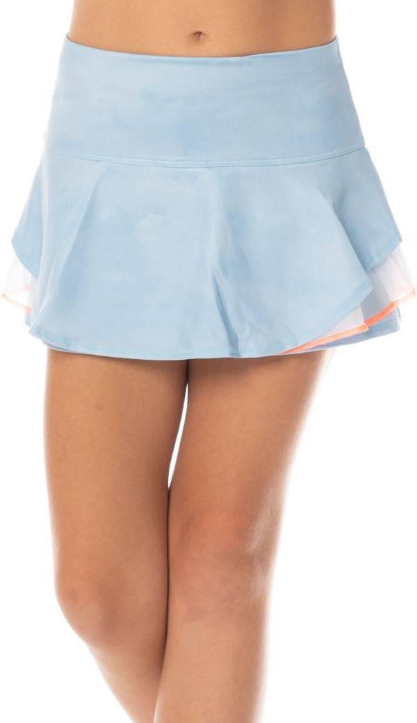 Lucky In Love Girls' Multilayer Tennis Flip Skort product image