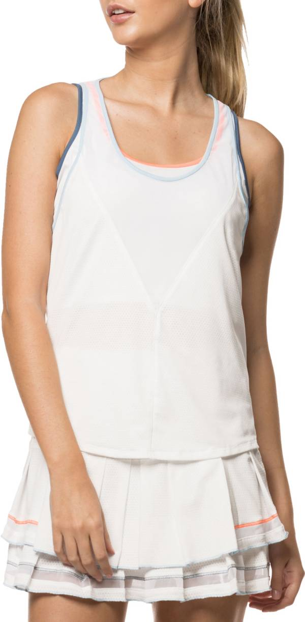 Lucky In Love Women's Bungee Tennis Tank product image