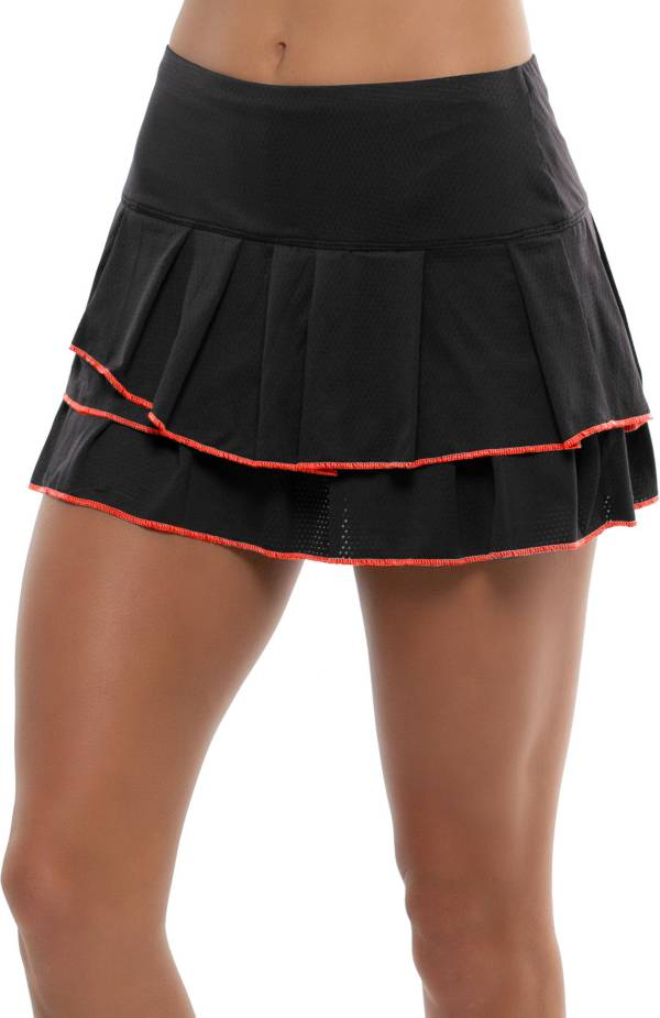 Lucky In Love Women's Pleated Tier Tennis Skort product image