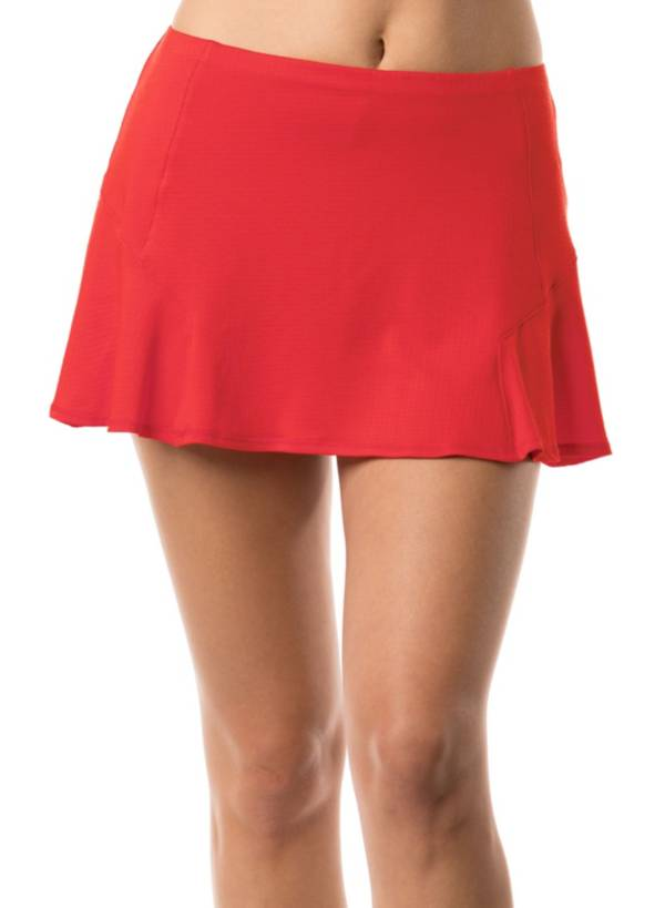 Lucky In Love Women's Bloomy Dimensions Step Up Tennis Skort product image
