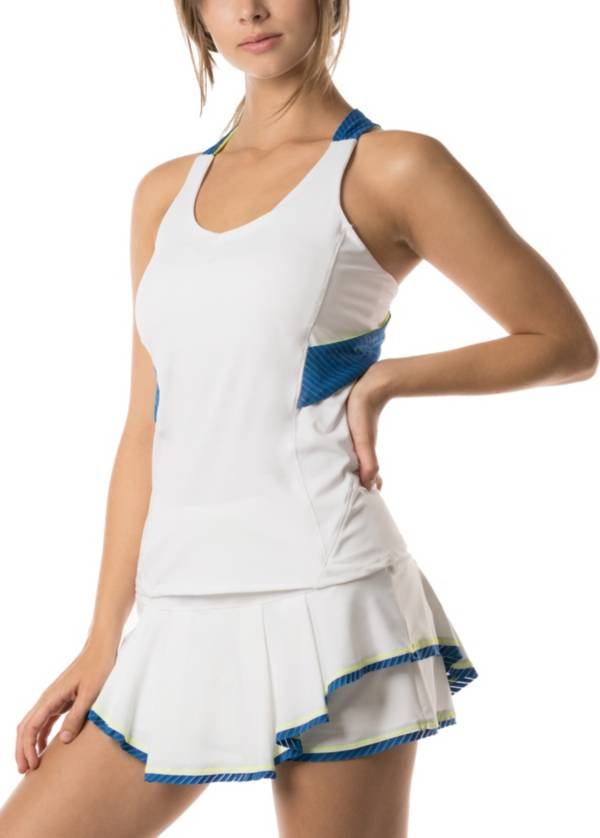 Lucky in Love Women's Axis Twist Back Tennis Tank product image