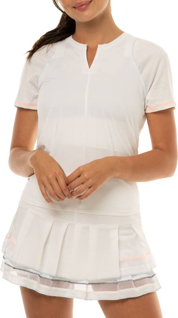 Lucky In Love Women's Viper Tie Back Tennis Shirt product image
