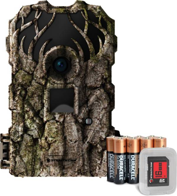 Stealth Cam Doubledrop IR Trail Camera Package – 15MP product image