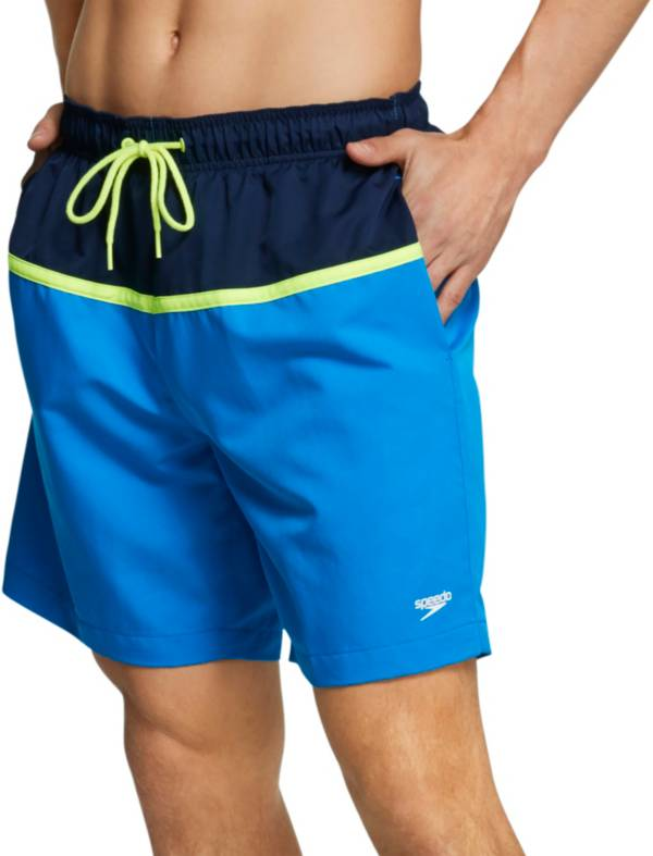 "Speedo Men's Colorblock Volley 18"" Swim Trunks product image"
