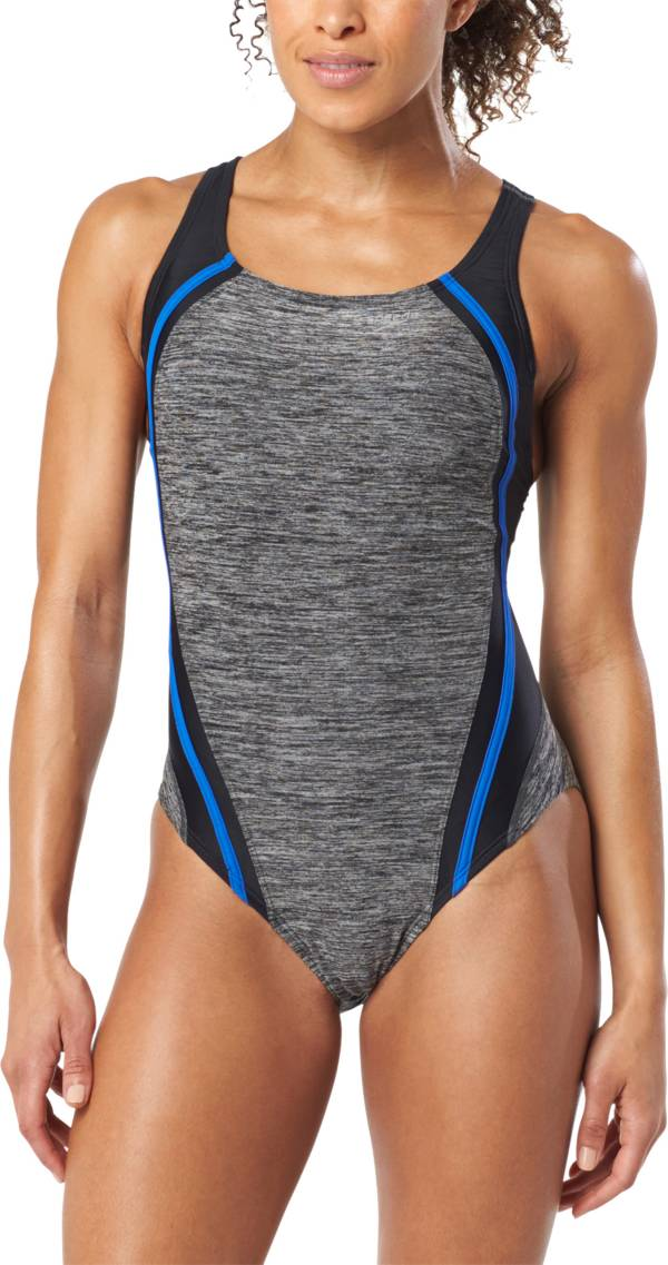 Speedo Women's Quantum Splice Heather One Piece Swimsuit product image