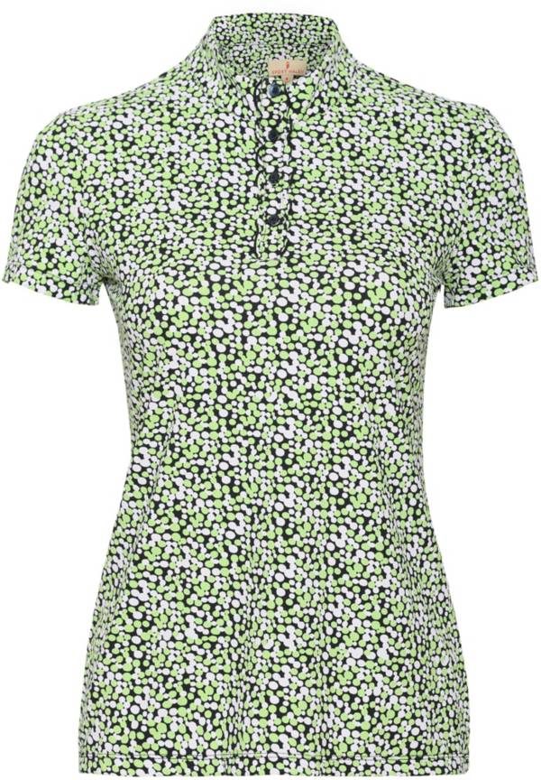 Sport Haley Women's Dottie Short Sleeve Print Golf Polo product image