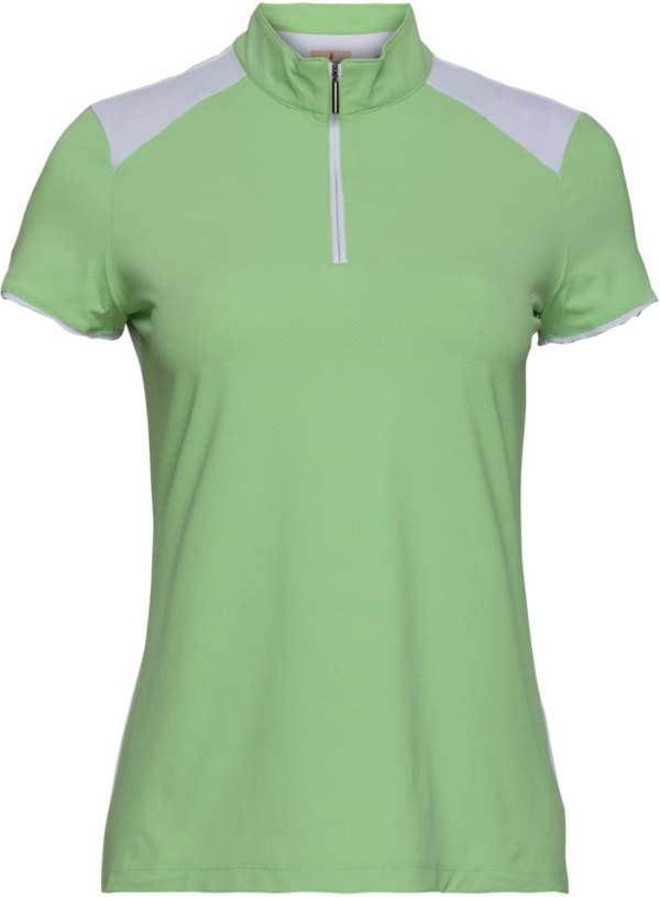 Sport Haley Women's Kristy Colorblock Short Sleeve Golf Polo product image