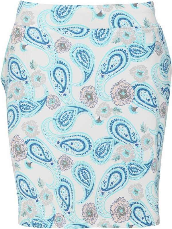 Sport Haley Women's Lucia Paisley Print Pull On 18'' Golf Skirt product image