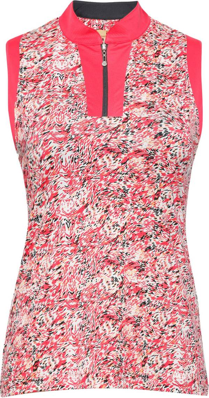 Sport Haley Women's Marielle ¼-Zip Mock Neck Sleeveless Golf Polo product image
