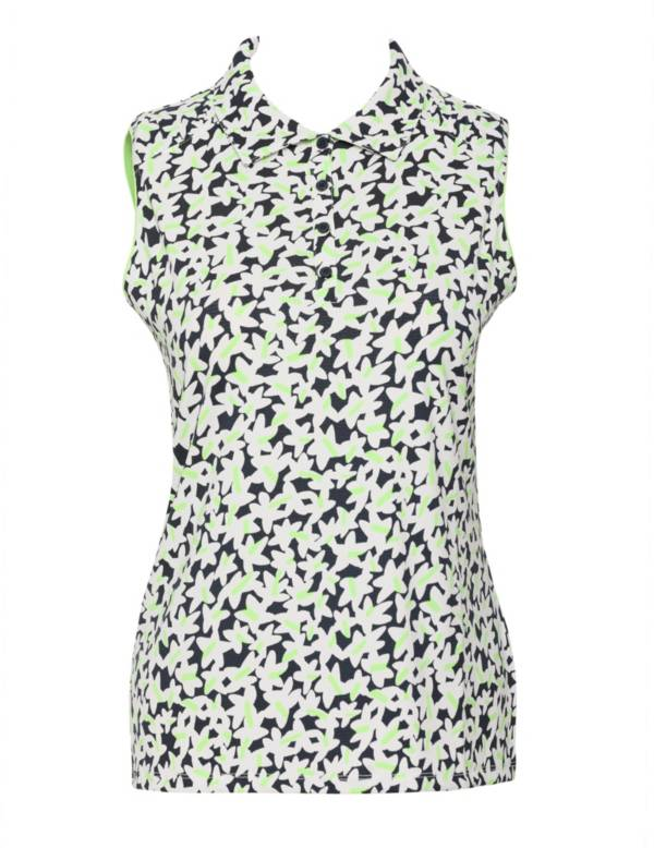 Sport Haley Women's Aster Print Sleeveless Golf Polo product image