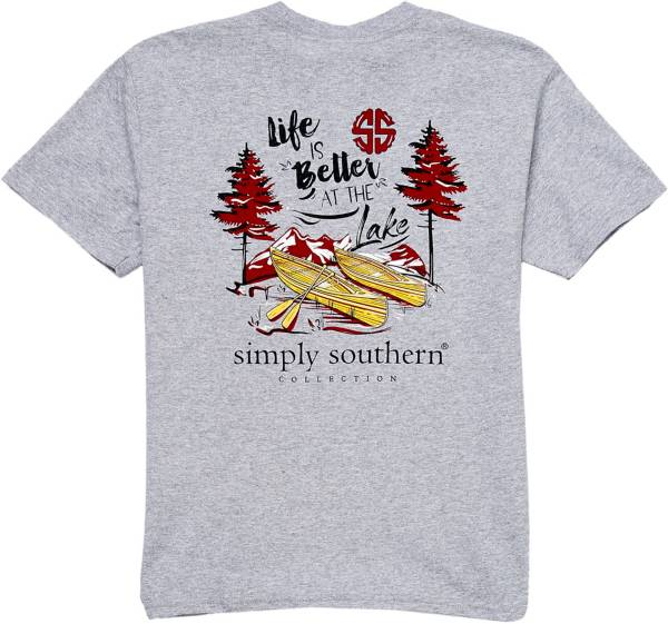Simply Southern Girls' Lake Short Sleeve T-Shirt product image