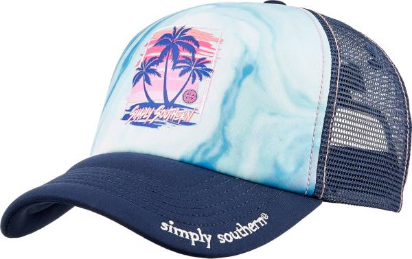 Simply Southern Women's Palm Trucker Hat product image