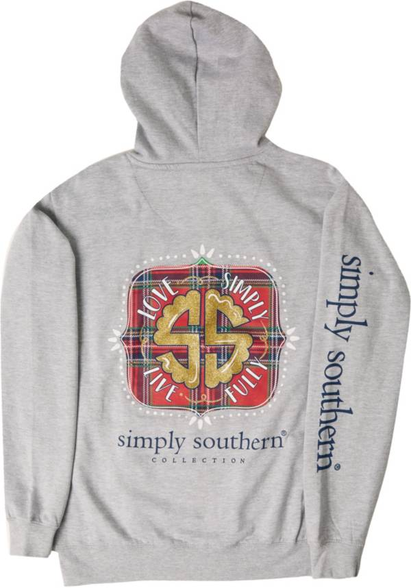 Simply Southern Women's Plaid Logo Hoodie product image