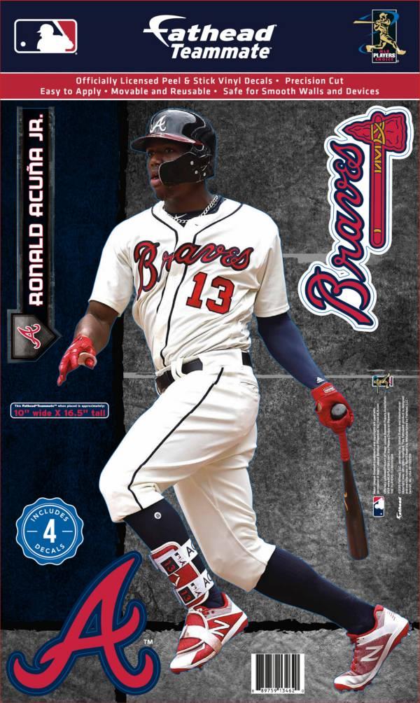 Fathead Atlanta Braves Ronald Acuna Jr. Teammate Wall Decal product image