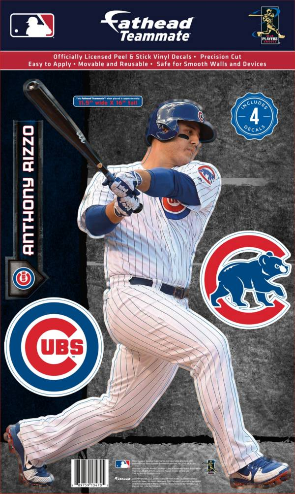Fathead Chicago Cubs Anthony Rizzo Teammate Wall Decal product image