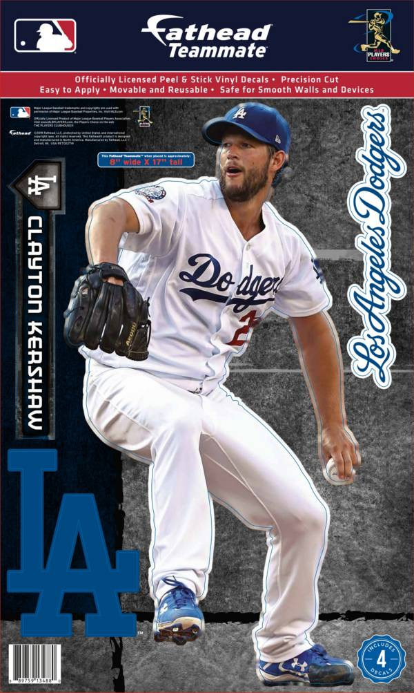 Fathead Los Angeles Dodgers Clayton Kershaw Teammate Wall Decal product image