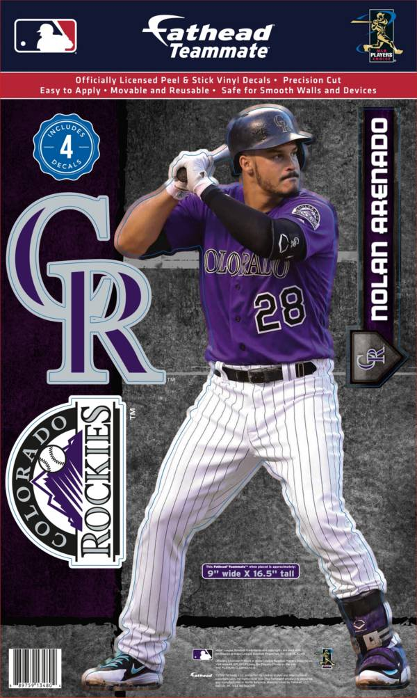 Fathead Colorado Rockies Nolan Arenado Teammate Wall Decal product image