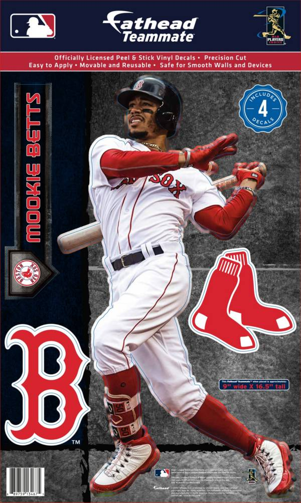Fathead Boston Red Sox Mookie Betts Teammate Wall Decal product image