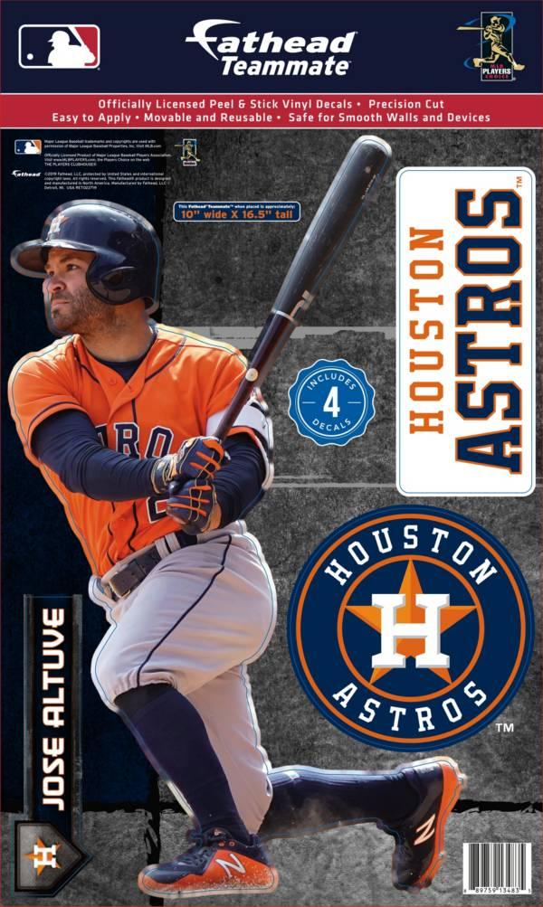 Fathead Houston Astros Jose Altuve Teammate Wall Decal product image