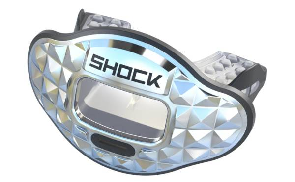 Shock Doctor Max AirFlow 2.0 3D Pyramid Chrome Lip Guard product image