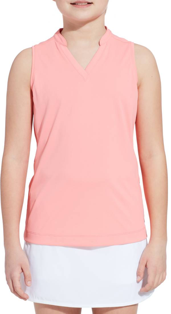 Slazenger Girls' Mock Neck Sleeveless Golf Polo product image