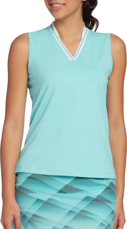 Slazenger Women's Rib Neck Sleeveless Golf Polo product image