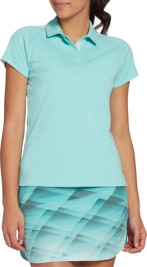 Slazenger Women's Side Perforation Short Sleeve Golf Polo product image