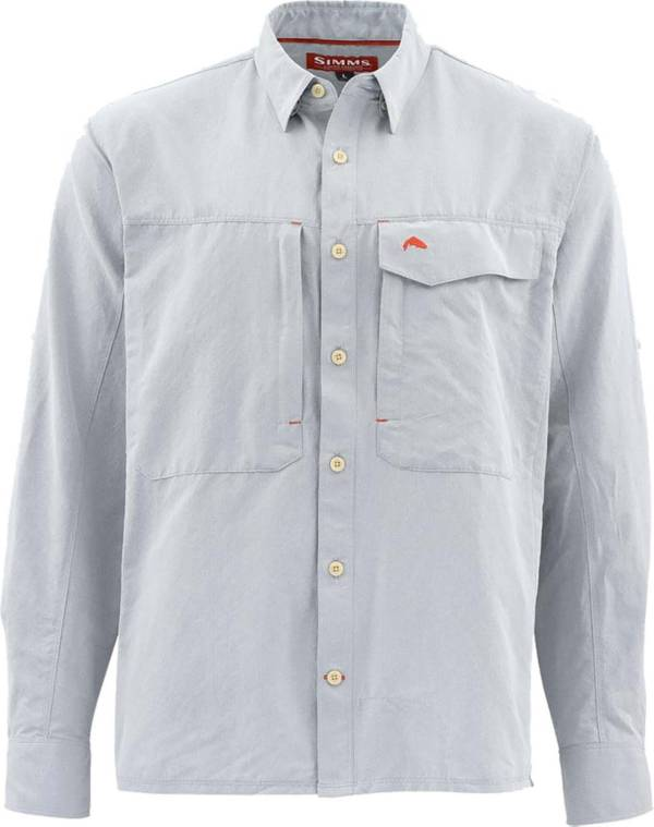 Simms Men's Guide Marl Long Sleeve Button Down Shirt (Regular and Big & Tall) product image