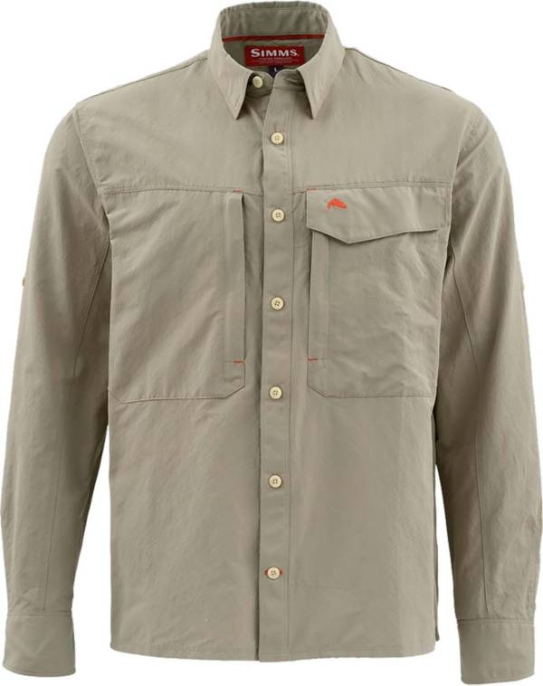 Simms Men's Guide Solid Long Sleeve Button Down Shirt (Regular and Big & Tall) product image