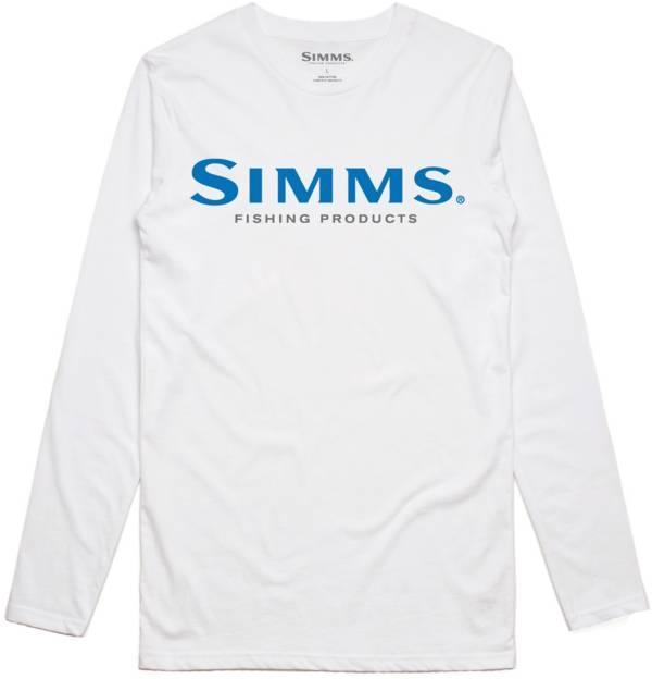 Simms Men's Logo Long Sleeve Tech Tee (Regular and Big & Tall) product image