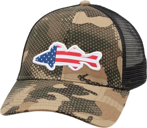 Simms Men's USA Walleye Trucker Hat product image