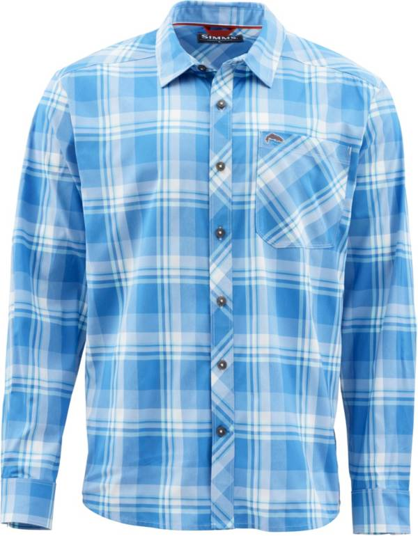 Simms Men's Outpost Long Sleeve Button Down Fishing Shirt product image