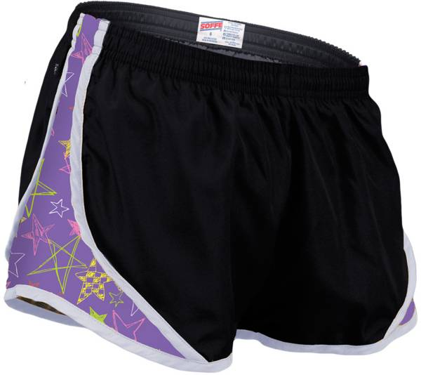 Soffe Girl's Printed Team Shorty Shorts product image