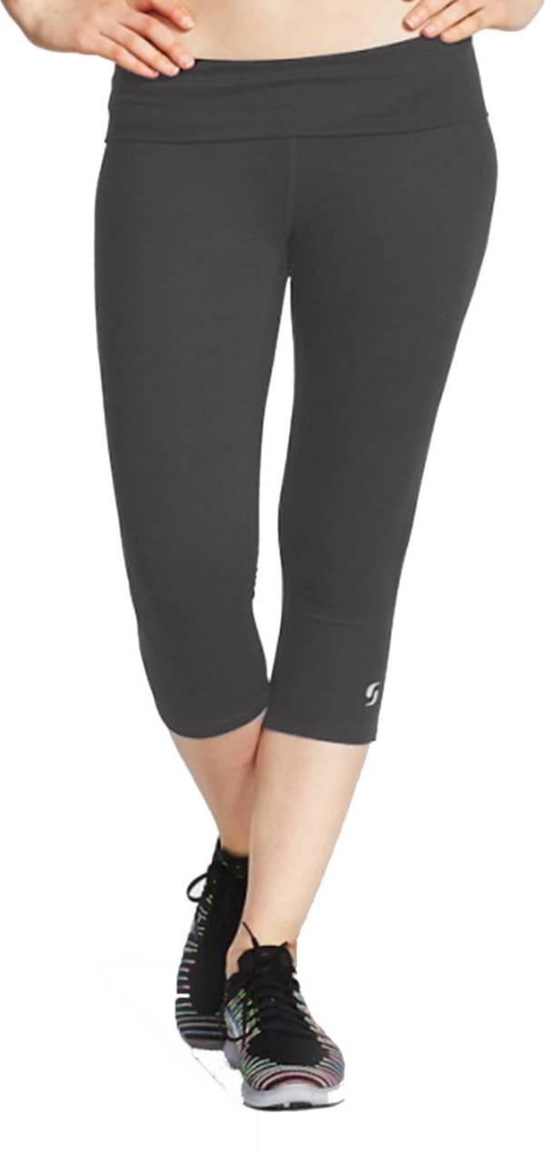Soffe Girls' Rolldown Capris Leggins product image