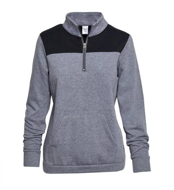 Soffe Juniors' Colorblock 1/4 Zip Pullover product image