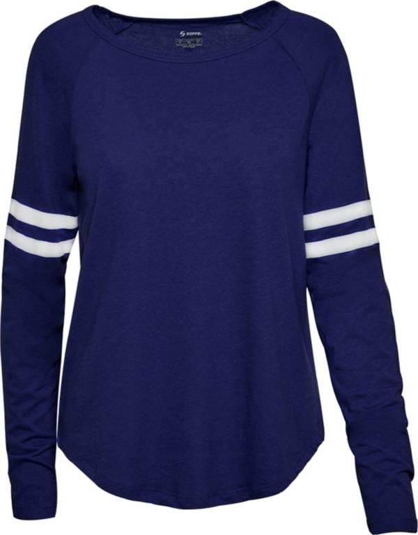 Soffe Juniors' Fan Crew Jersey Long Sleeve Shirt product image